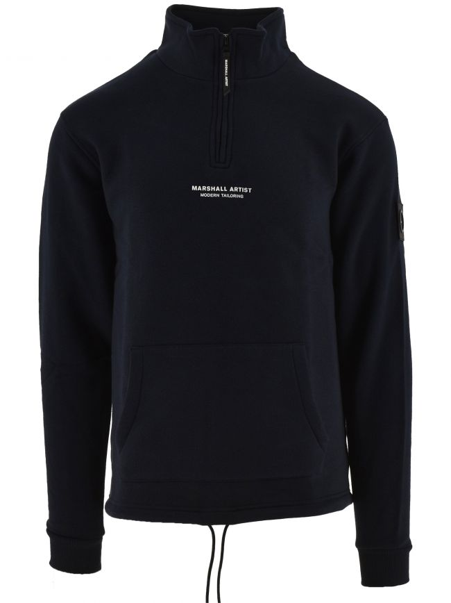 Navy Blue Half Zip Top