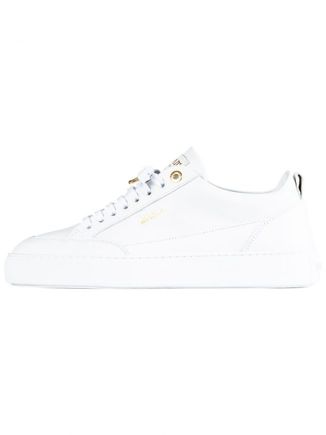 White Tia Leather Sneaker