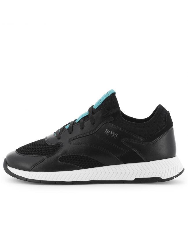 Black Titanium Runn Sneaker