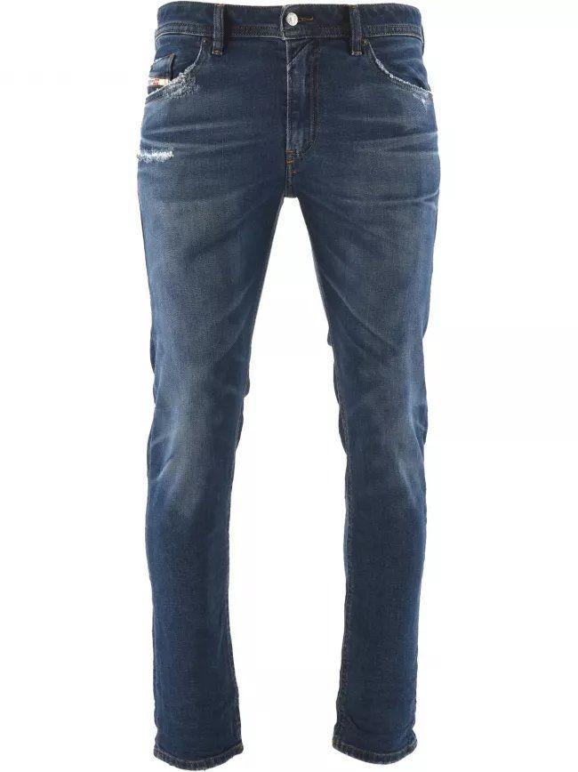 "Slim Fit Stretch Thommer X Blue Jean 34"" Leg"