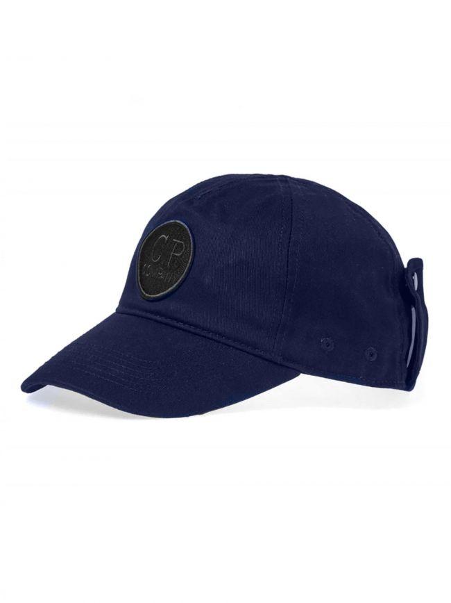 Blue Goggle Baseball Cap