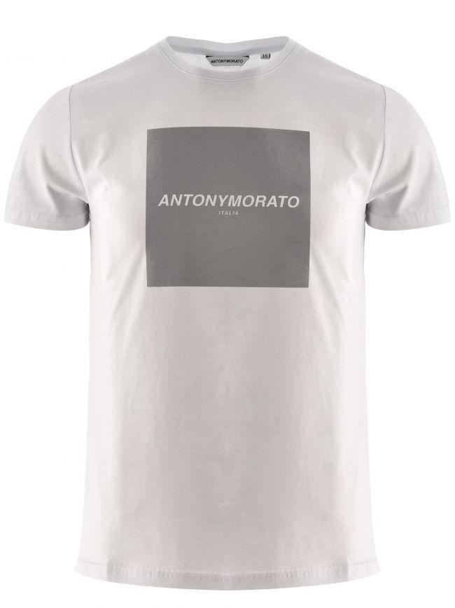 Antony Morato Kids White Short Sleeve T-Shirt