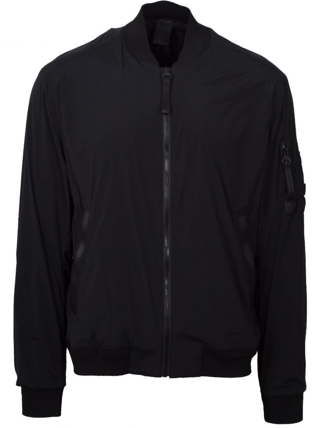 Black Ocani-D Bomber Jacket