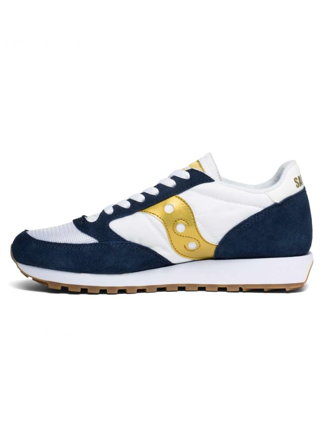 Navy, White & Gold Jazz Original Vintage Sneaker