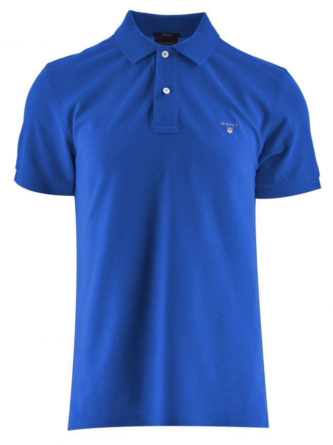 Crisp Blue Classic Polo Shirt