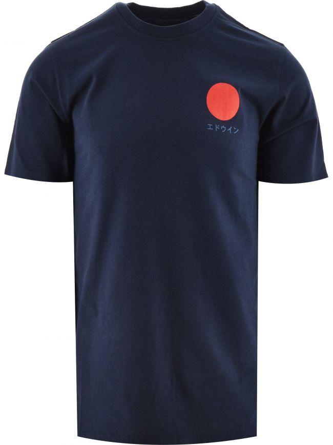 Navy Japanese Sun T-Shirt