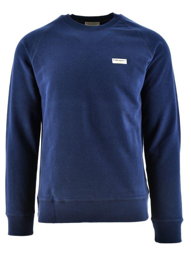 Samuel Navy Sweatshirt