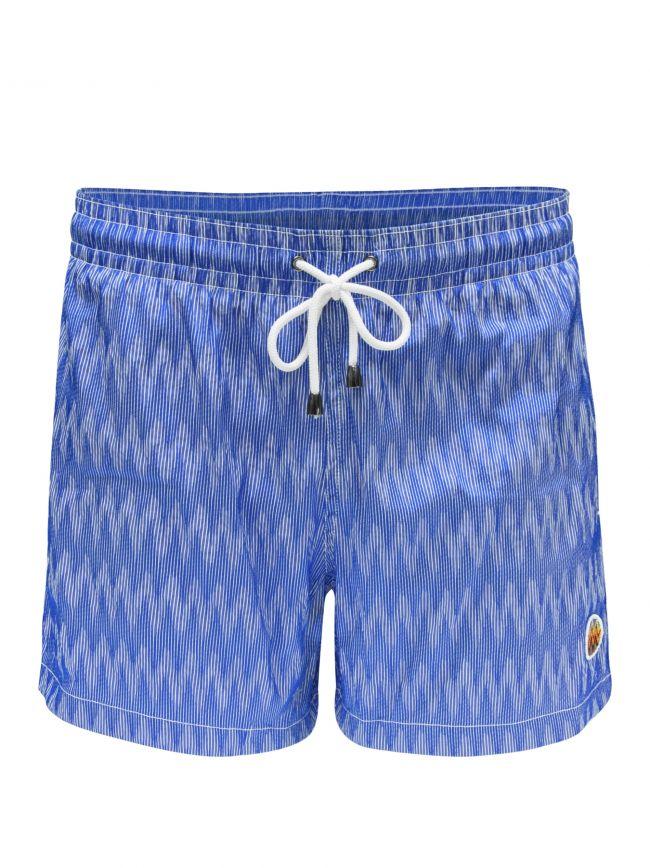Space-Dye Vertical Stripe Shorts