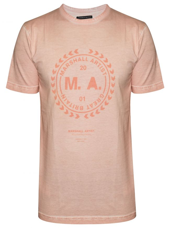 Pink Garment Dyed T-Shirt