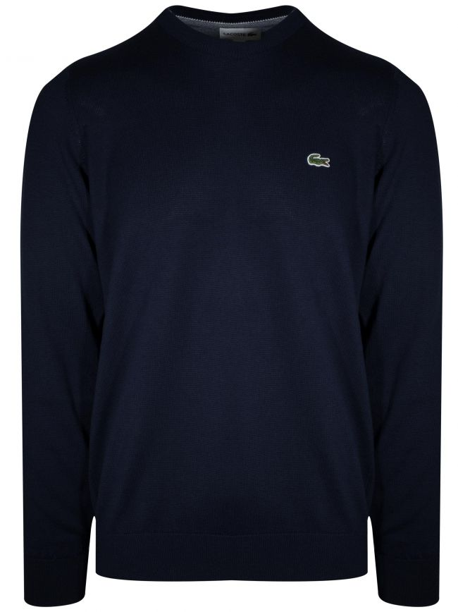 Navy Round Neck Jumper