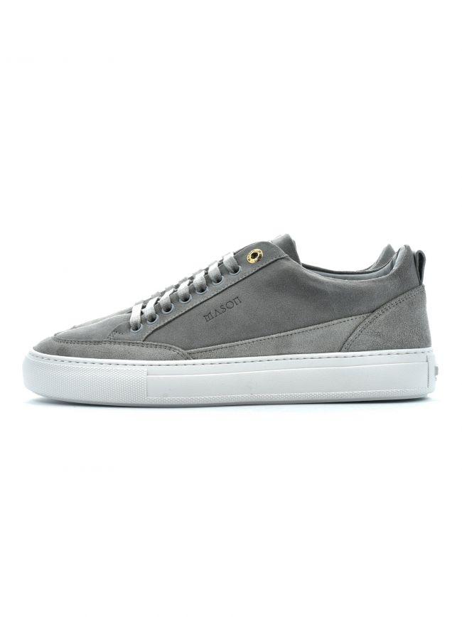 Grey Tia Low Nubuck Sneaker