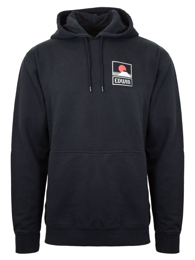 Sunset on Mt. Fuji Hooded Sweatshirt