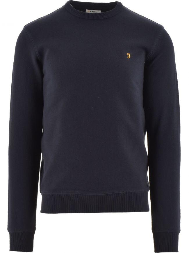 Navy Tim Crew Sweatshirt