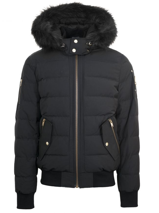 Black ScotchTown Bomber Jacket