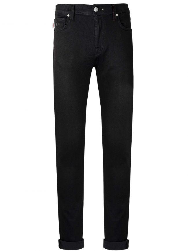 Black 24.7 Leonardo 1 Moon Slim Jean