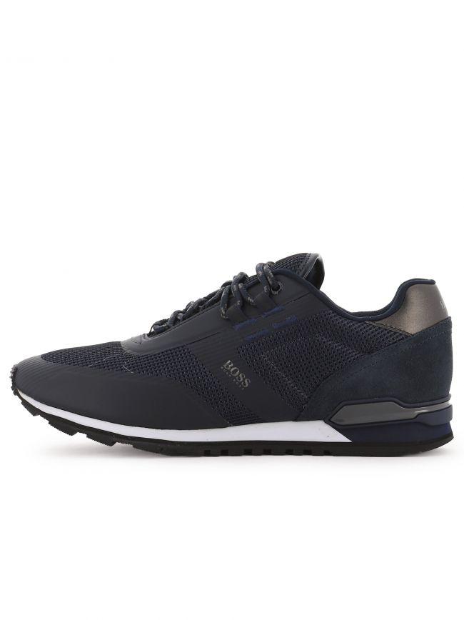 Navy Parkour Runn Sneaker
