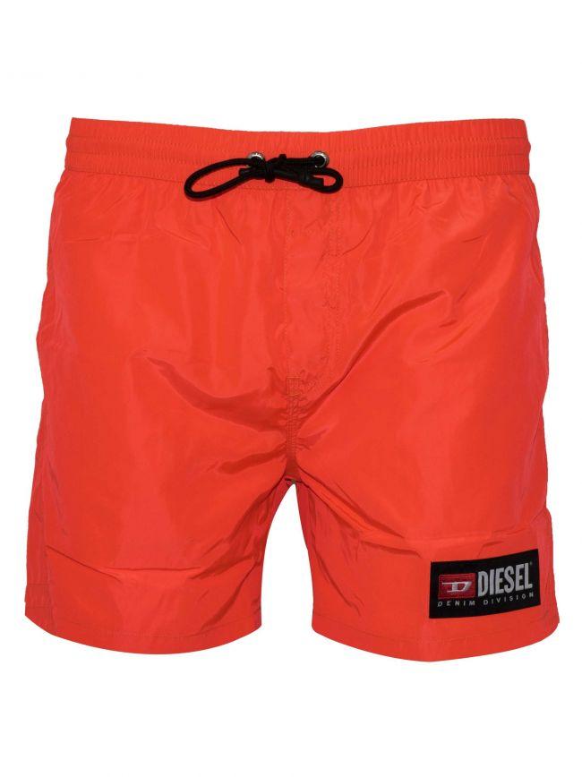 Wave Neon Orange Swim Short