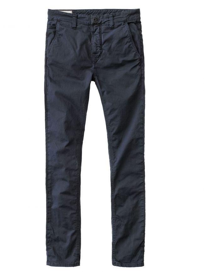 Dark Midnight Slim Adam Chino Trousers