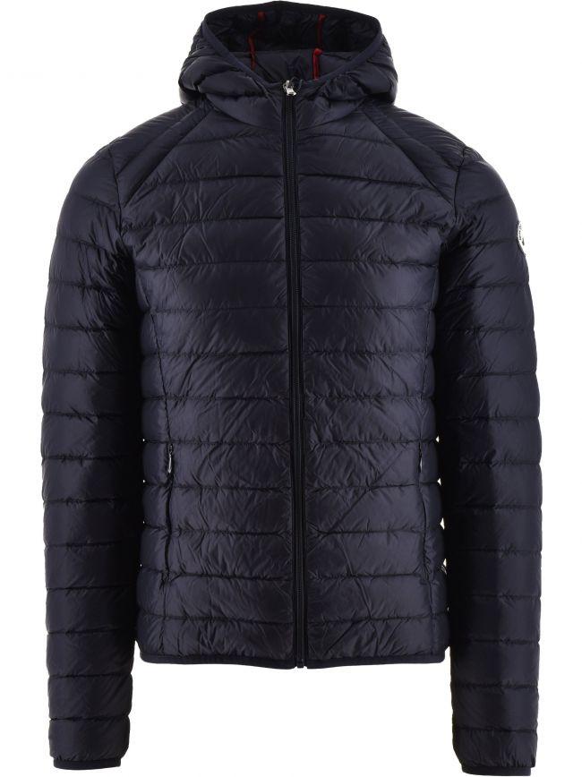 Navy Nico Hooded Jacket