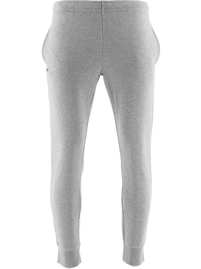 Grey Jersey Cuffed Jog Pant