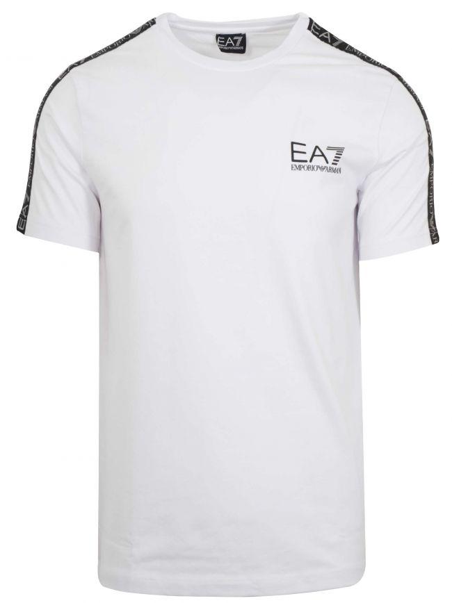 White Tape Logo T-Shirt