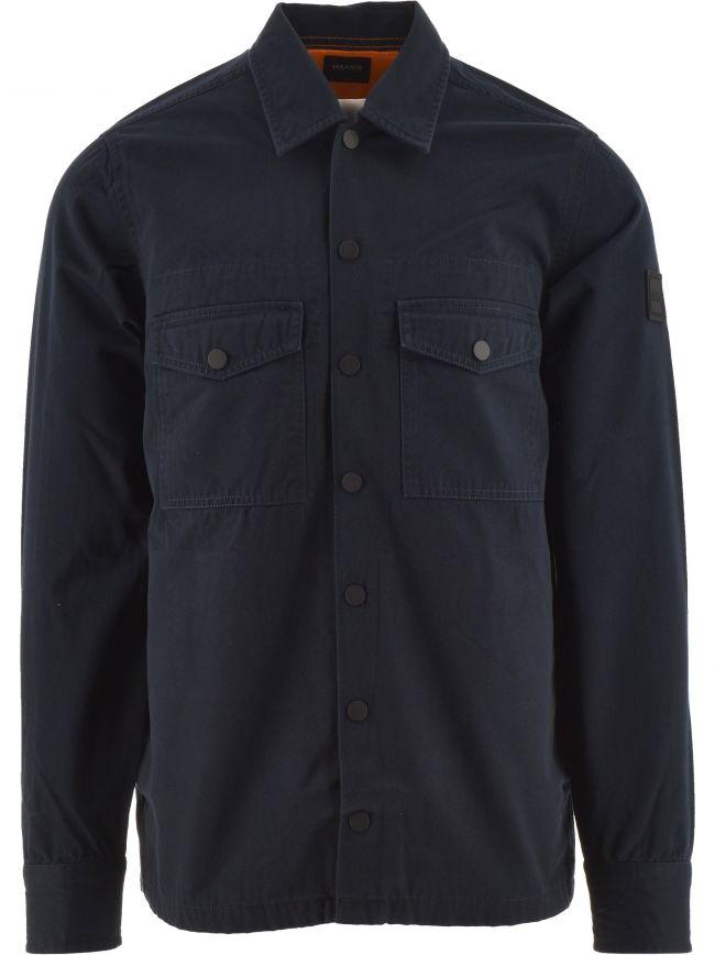 Navy Lovel 4 Buttoned Shirt