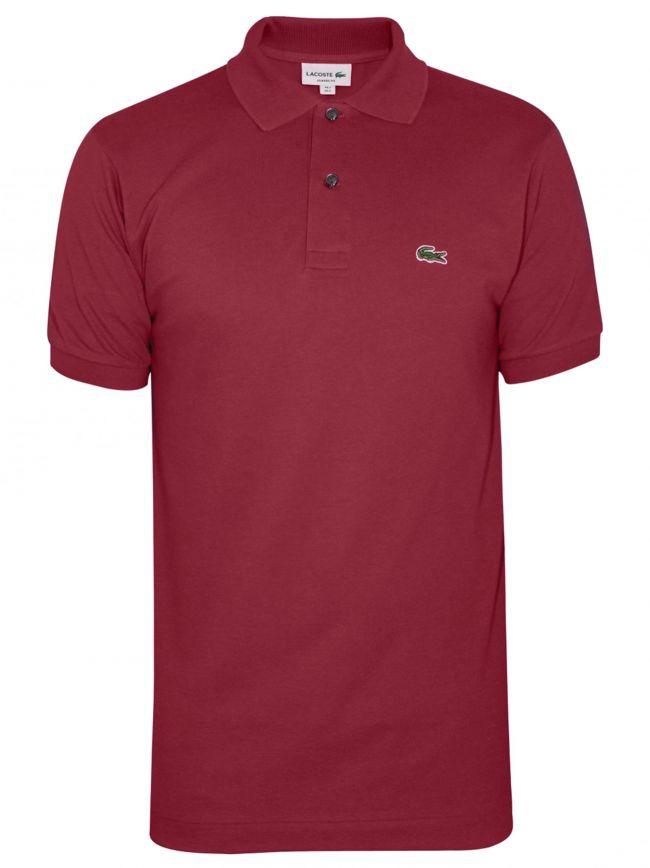 Classic L1212 Bordeaux Polo Shirt