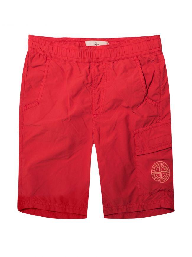 Red Swim Short