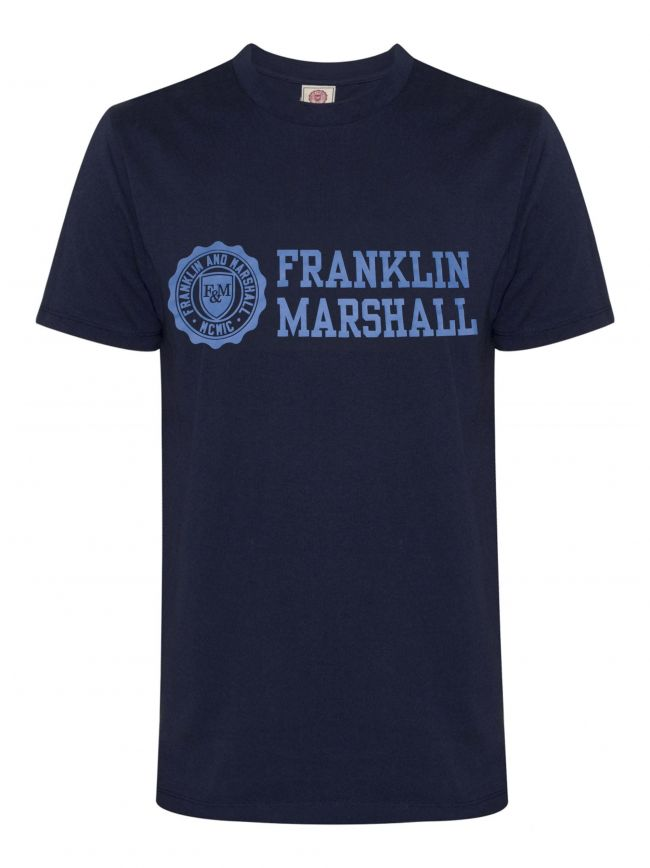 Navy Short Sleeve Logo T-Shirt