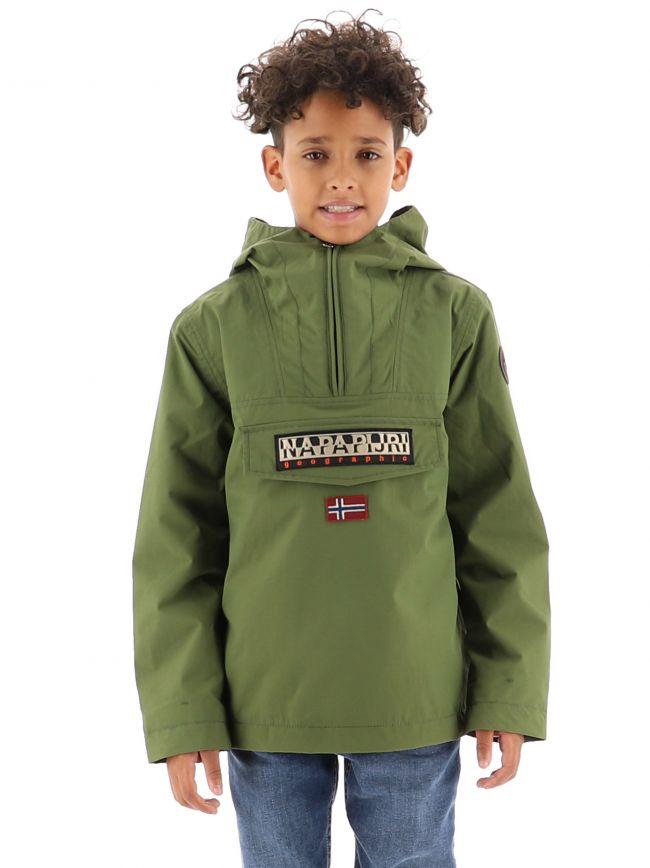Green Rainforest Sum 3 Jacket