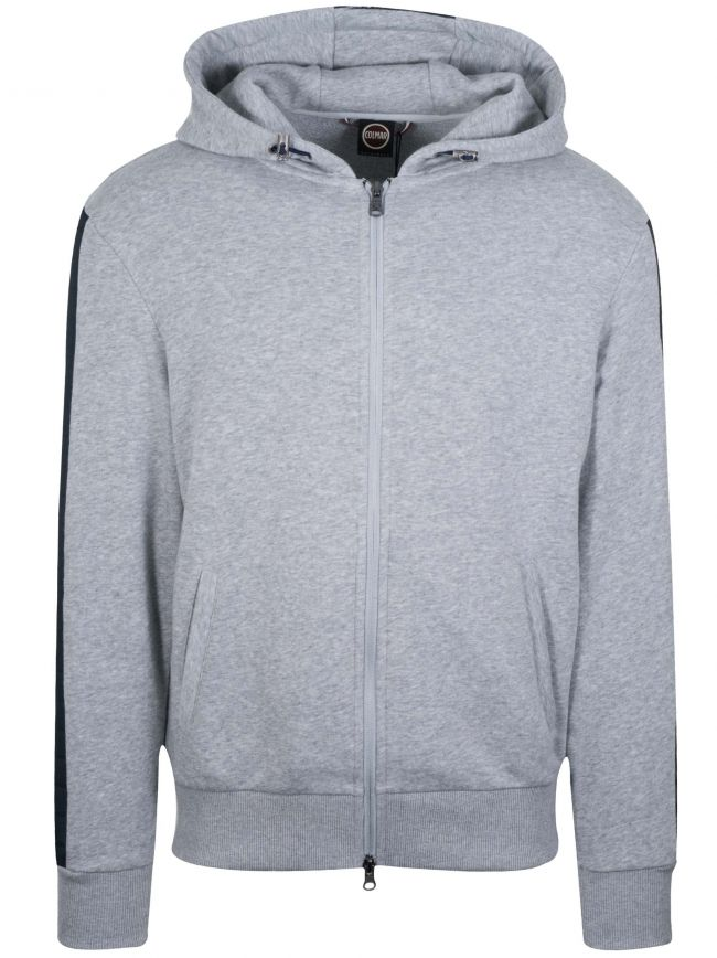 Ultrasonic Grey Hooded Jacket