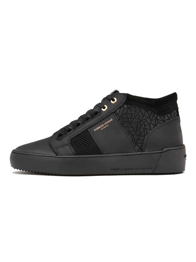 Black Mosaic Propulsion Mid Sneaker