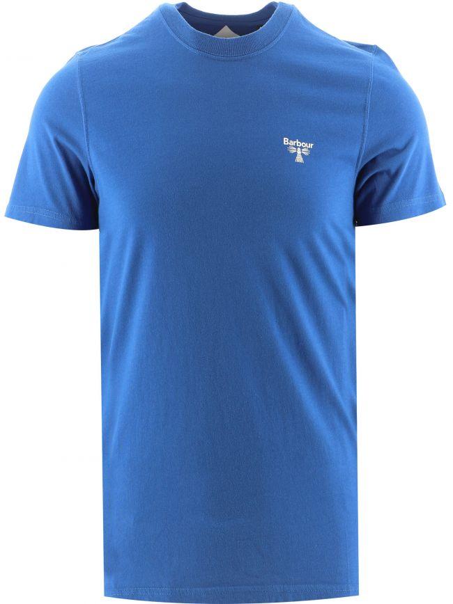 Nautical Blue Small Logo T-Shirt