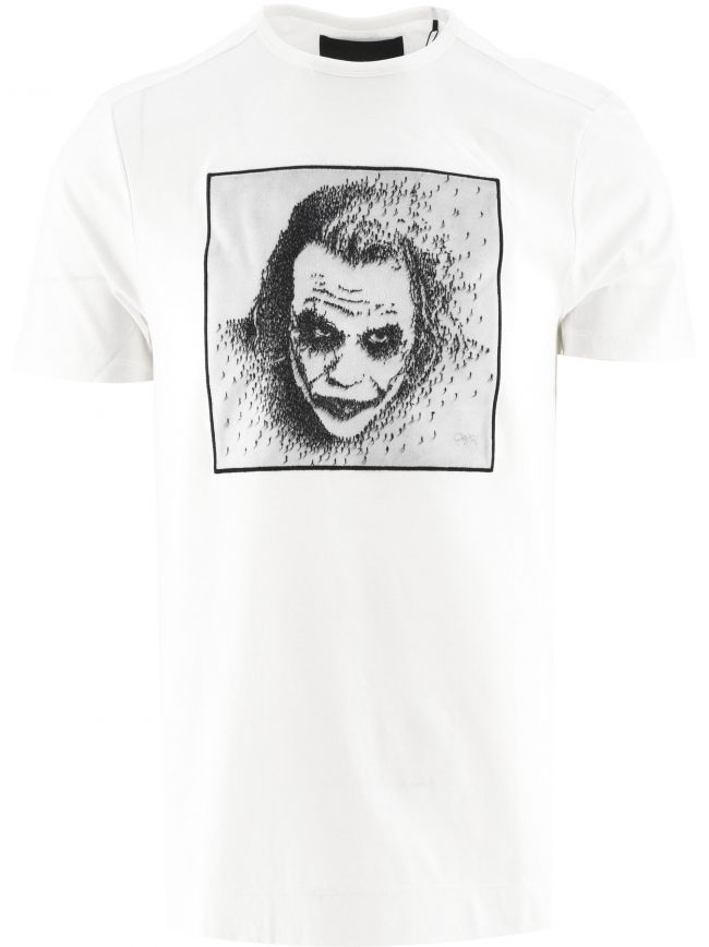 White Joker BP T-Shirt Designed by Craig Alan