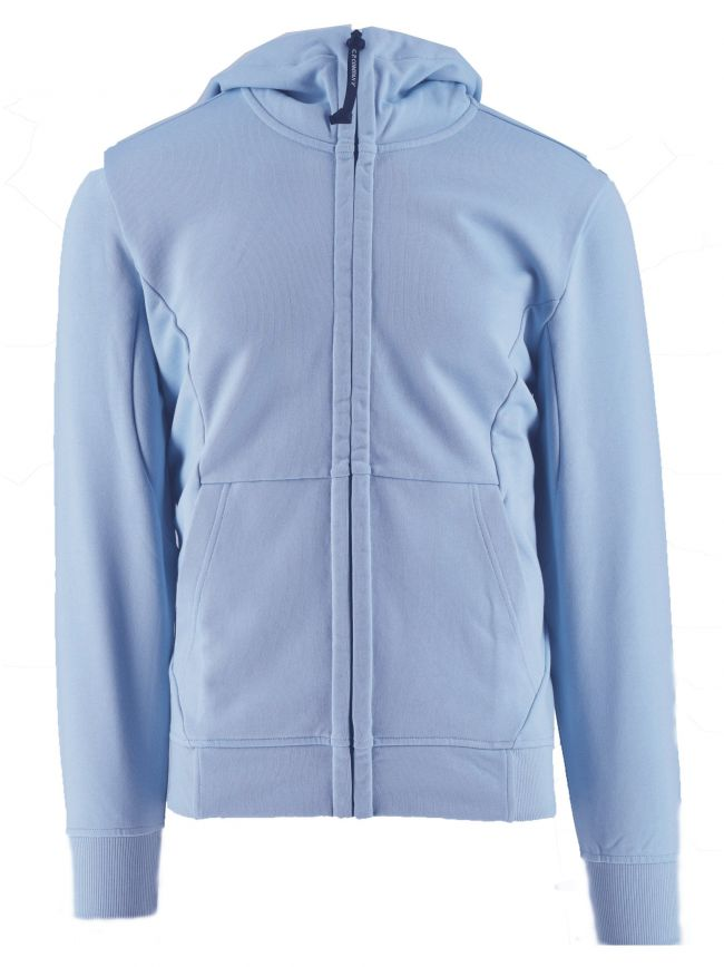 Pale Blue Goggle Hoody