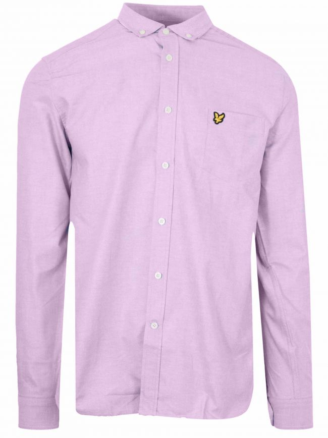 Pink Long-Sleeve Shirt