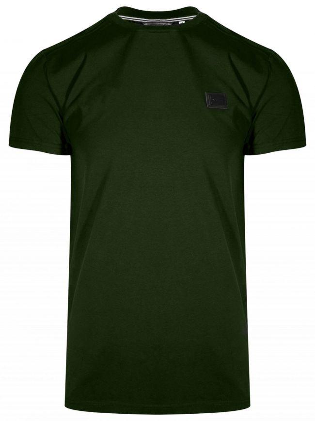 Plaque Green Short Sleeve T-Shirt