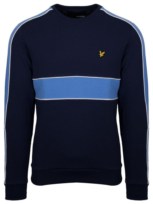 Navy Cut & Sew Sweatshirt