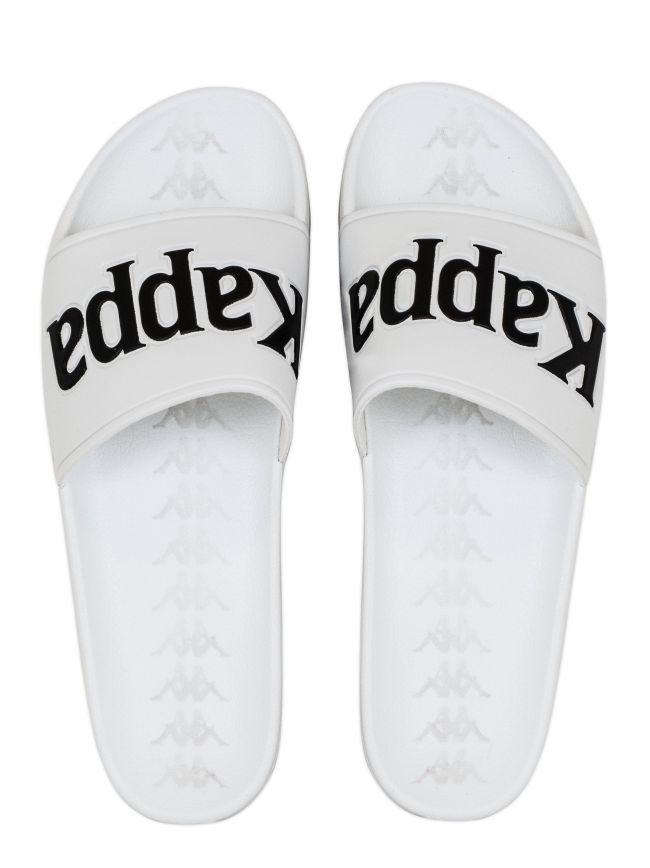 White 222 Banda Adam Logo Slides