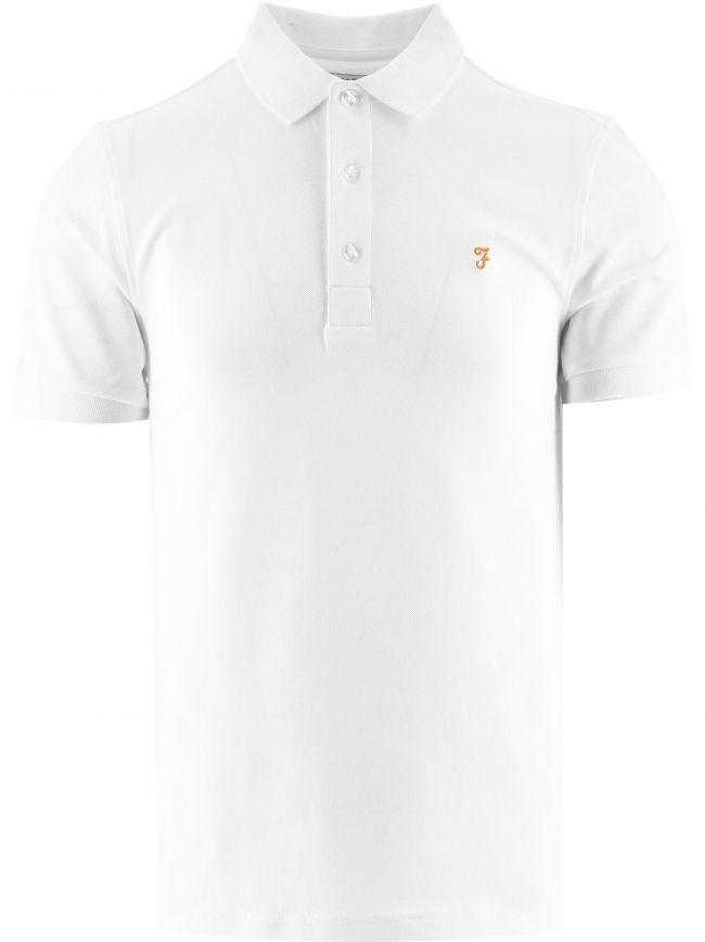 White Blanes Polo Shirt