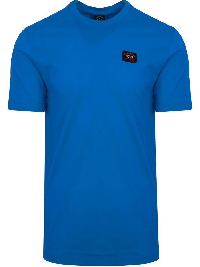 Royal Blue Patch Logo T-Shirt