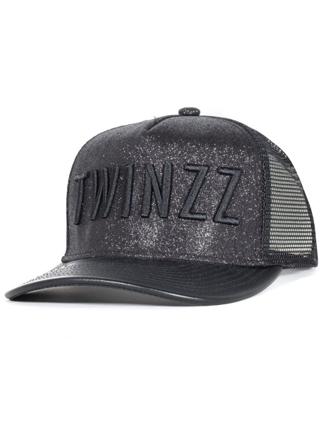 Black Metallic 3D Cap