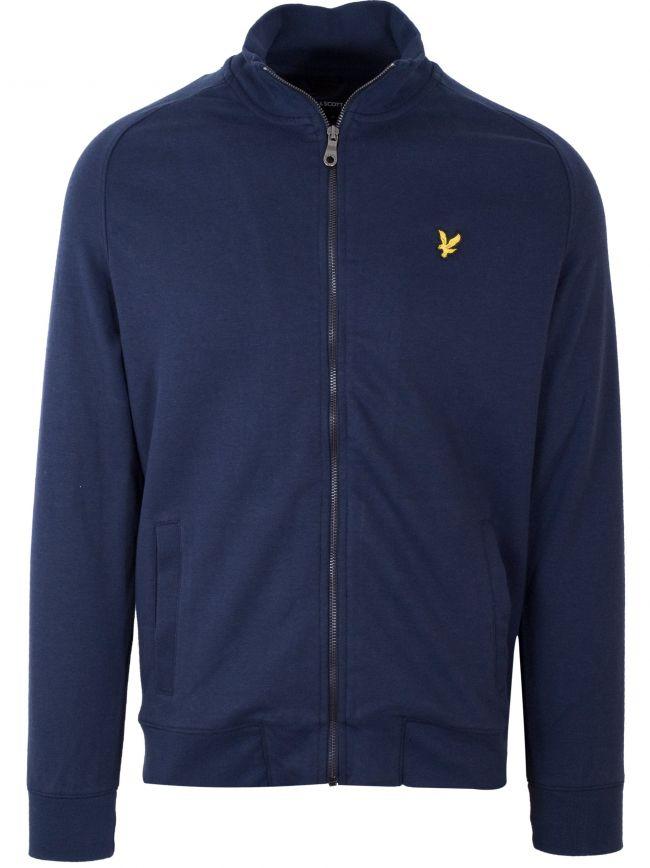 Navy Zip Sweatshirt