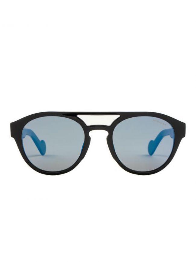 ML0075/S Black Blue Lens Sunglasses