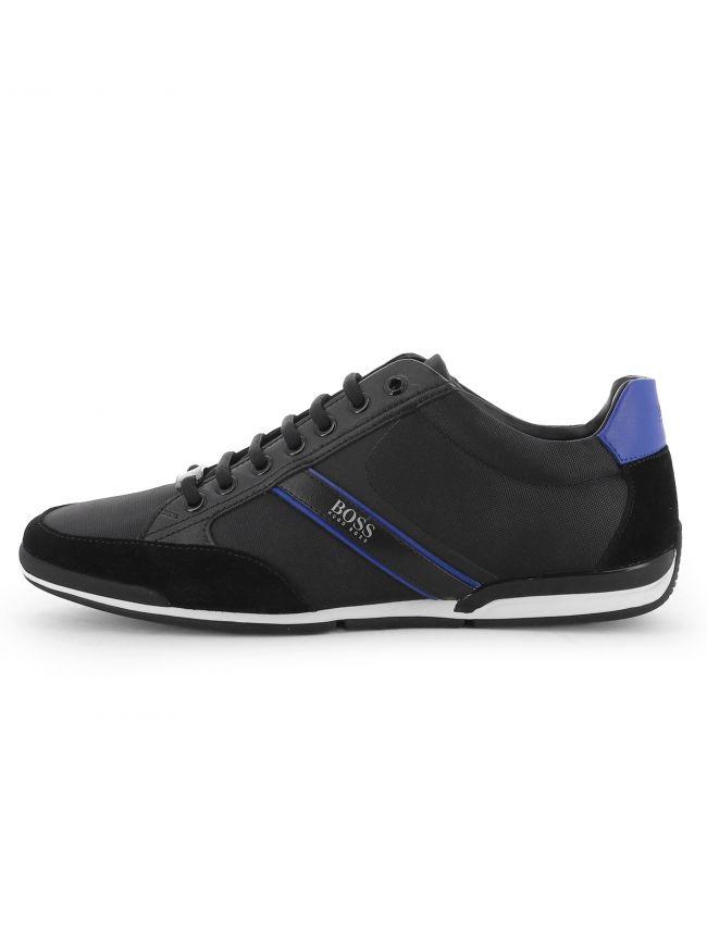 Black Saturn Lowp MX Sneaker