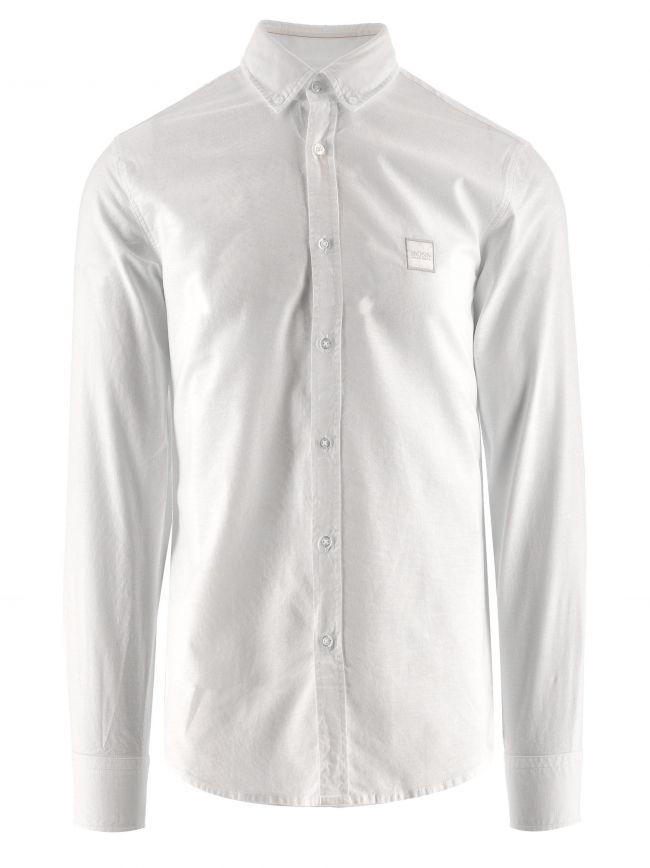 White Mabsoot Logo Shirt