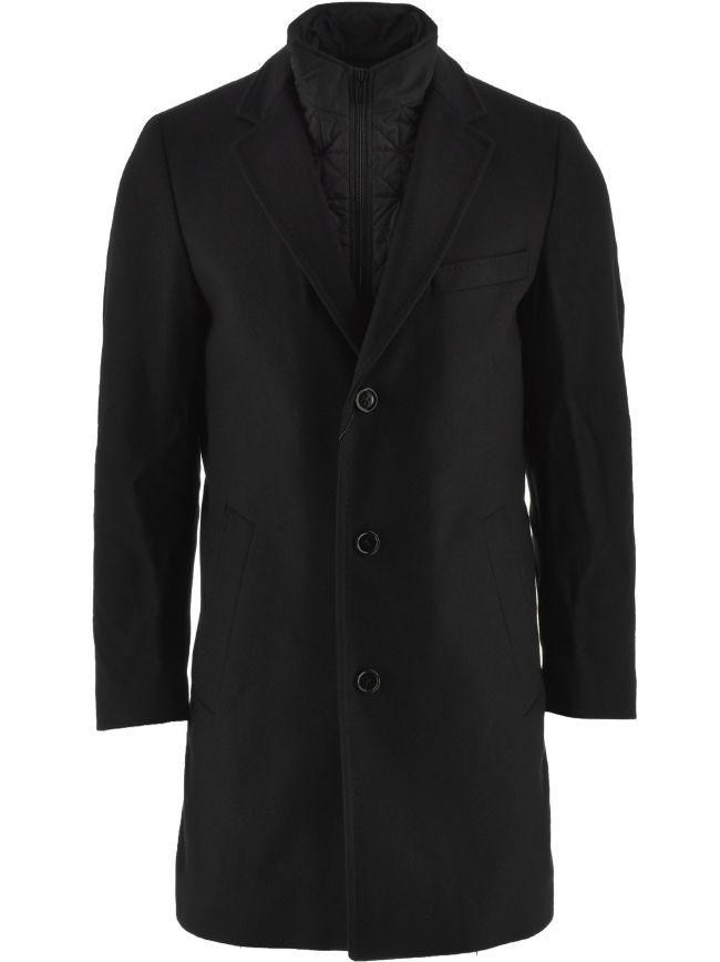 Black Milogan 2041 Overcoat