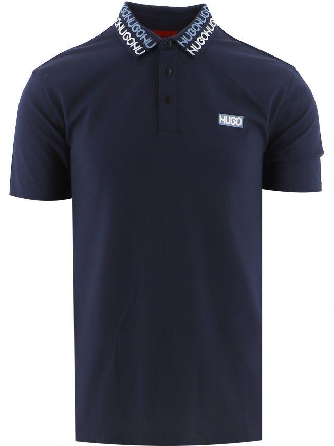 Navy Damago Polo Shirt