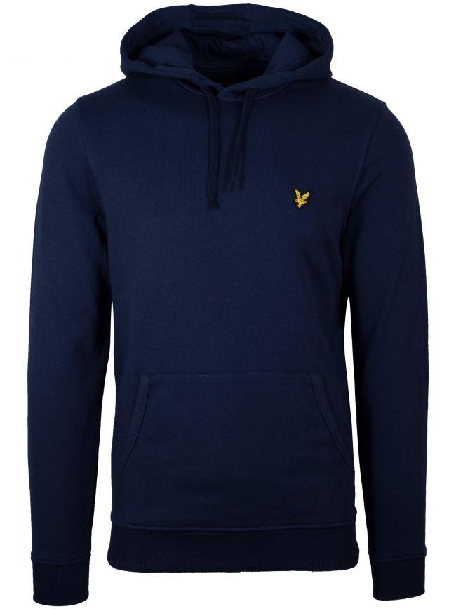 Navy Pullover Hoodie