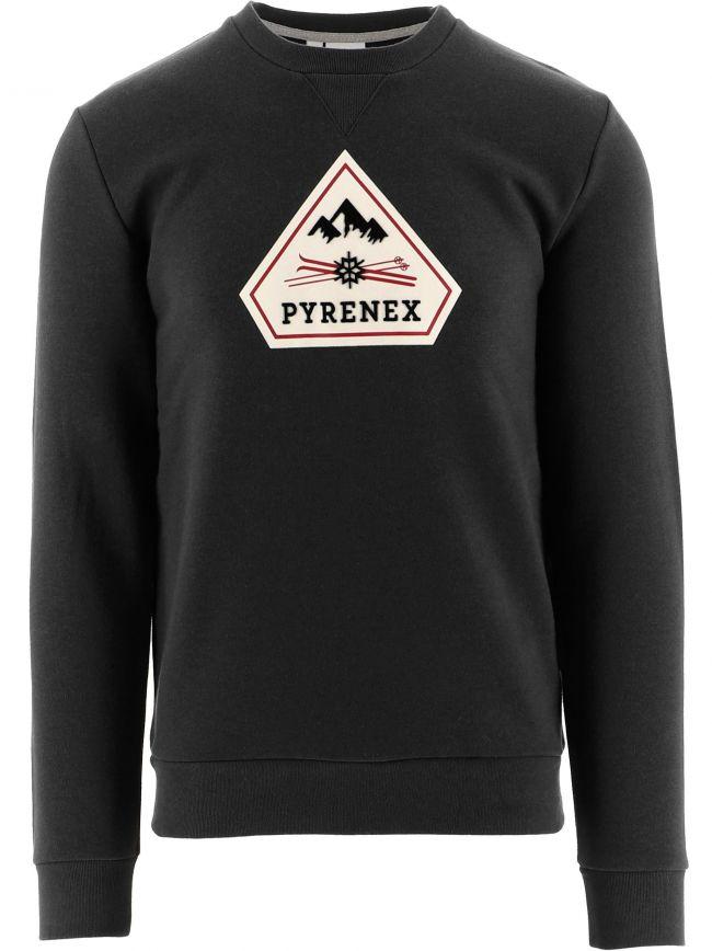 Black Charles Sweatshirt